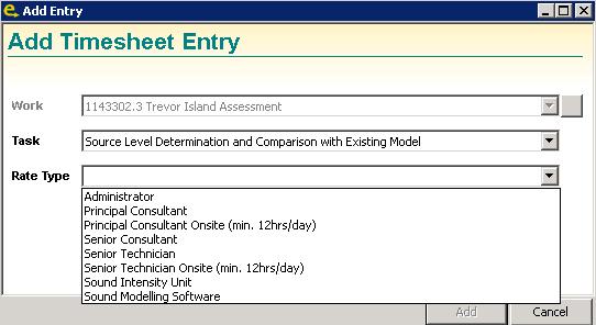 Timesheet Management engineering